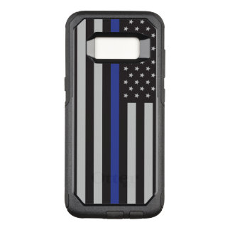 Support the Police Thin Blue Line American OtterBox Commuter Samsung Galaxy S8 Case