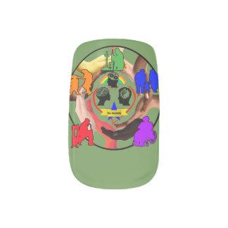 Support the Traumatic Brain Injury community! Minx Nail Art