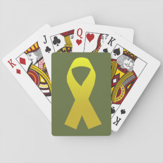 Support the Troops Playing Cards