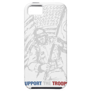 Support The Troops - USA American Pride iPhone 5 Covers