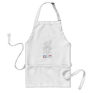 Support The Troops - USA American Pride Standard Apron