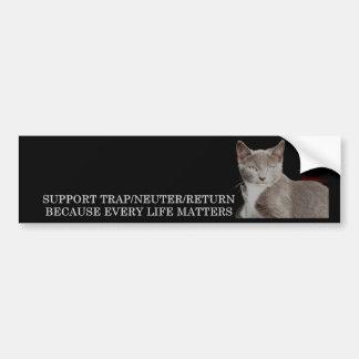 Support TNR Bumper Sticker