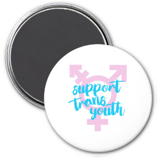 Support Trans Youth - Trans Symbol - -  Magnet