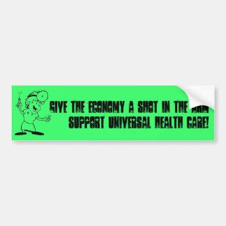Support Universal Health Care Bumper Sticker