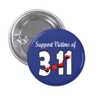 Support Victims of 3.11 Button