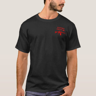 Support Viet Nam/Legacy Vets MC M4 Backbone Tested T-Shirt
