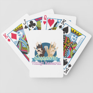 Support Vitiligo Research Bicycle Playing Cards