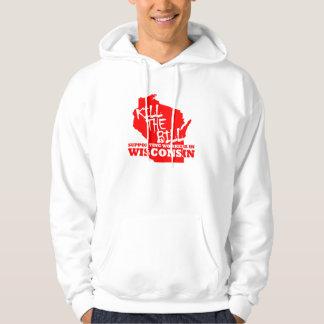 Support Wisconsin workers Hoodie