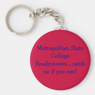 Support Your College or University Basic Round Button Keychain