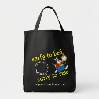 support your local artist tote bag