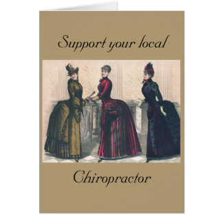 Support your Local Chiropractor Card