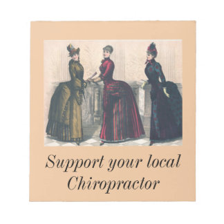 Support your Local Chiropractor Notepad