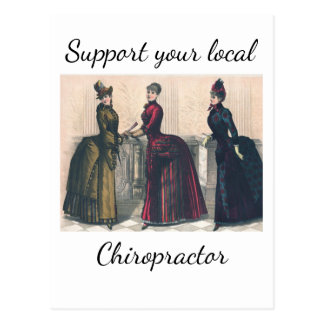 Support your Local Chiropractor Postcard