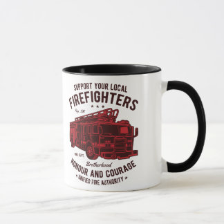 Support your local Fire Fighters Mug