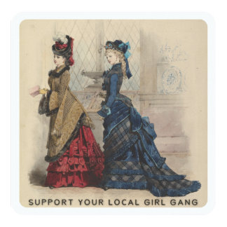 Support Your Local Girl Gang Card