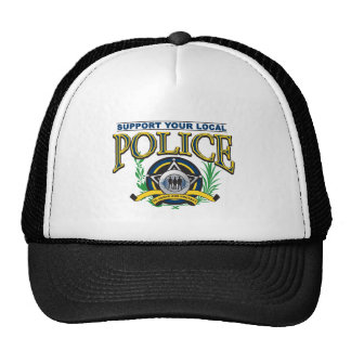 Support Your Local Police Trucker Hat