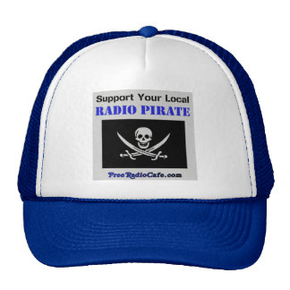 Support Your Local Radio Pirate Hat