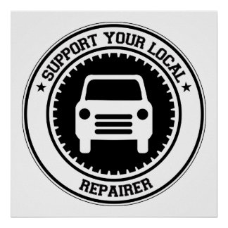 Support Your Local Repairer Print