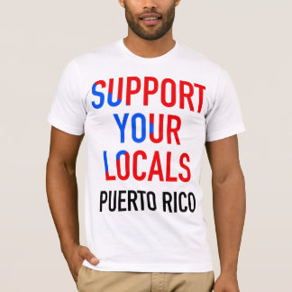 Support Your Locals DJs Puerto Rico: LIC Edition T-Shirt