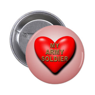 Support Your Soldier 2 Inch Round Button