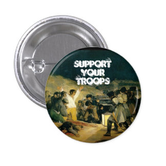 Support Your Troops 1 Inch Round Button
