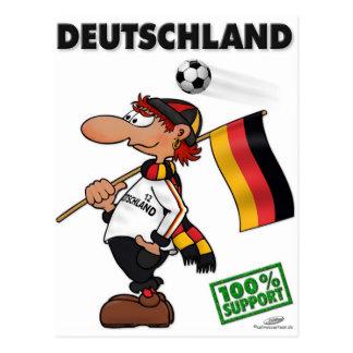 Supporter Deutschland White Edition Postcard