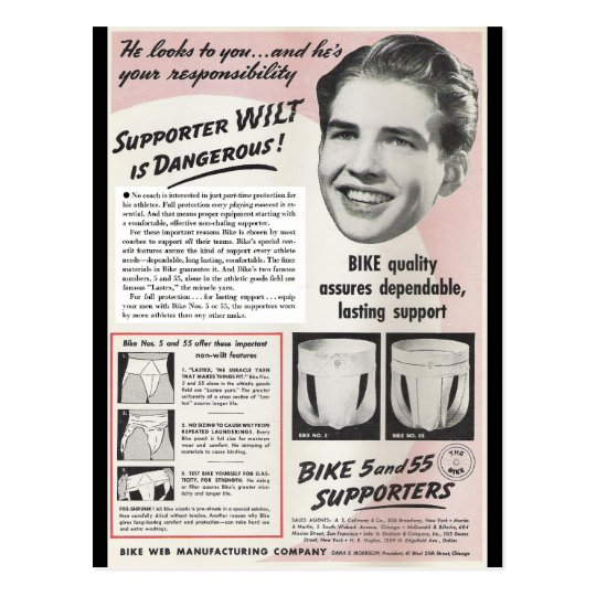 Supporter Wilt is Dangerous! Postcard
