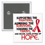 Supporting Admiring Honouring 3.2 Blood Cancer Buttons