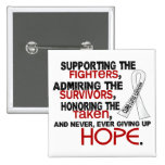 Supporting Admiring Honouring 3.2 Lung Cancer Pin