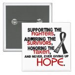 Supporting Admiring Honouring 3.2 Melanoma Pinback Buttons