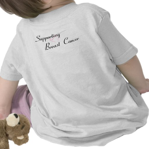 """""""Supporting Breast Cancer"""" products T-shirt"""