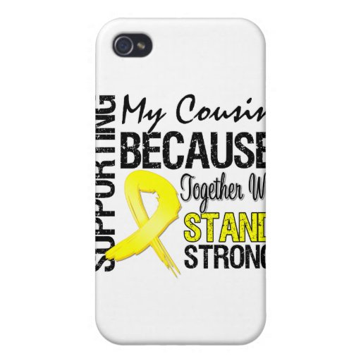 Supporting My Cousin We Stand Strong - Military iPhone 4/4S Cover