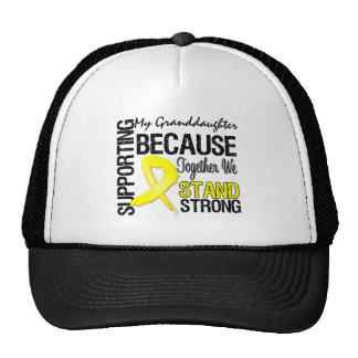 Supporting My Grandddaughter We Stand Strong - Mil Trucker Hat
