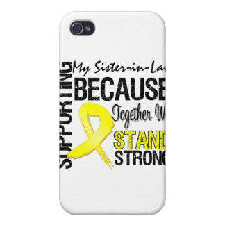 Supporting My Sister-in-Law We Stand Strong - Mili iPhone 4 Cover