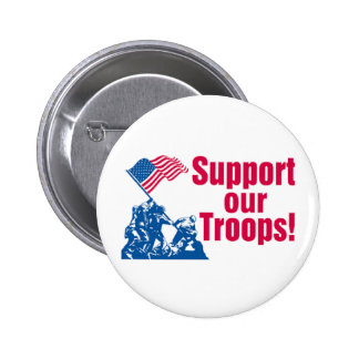 Supporting Our Troops Buttons