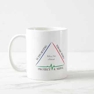 Supporting Police, Fire, and Rescue 2 Coffee Mug