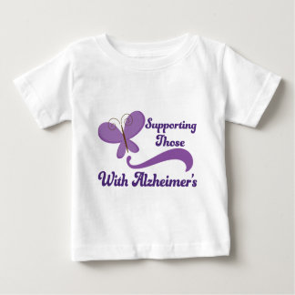 Supporting Those With Alzheimers Baby T-Shirt
