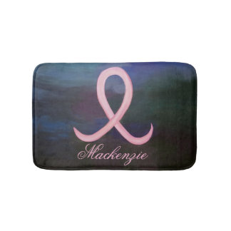 Supportive Bath | Name Soft Pink Breast Cancer Bath Mat