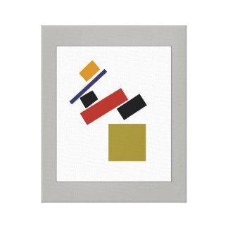 Suprematism by Kazimir Malevich Canvas Print