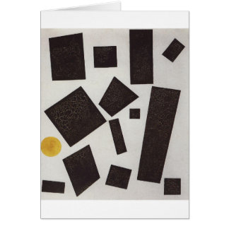 Suprematism by Kazimir Malevich Card