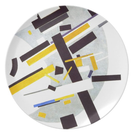 Suprematism by Kazimir Malevich Plate
