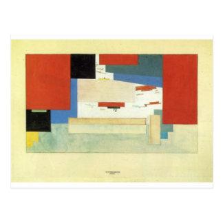 Suprematism by Kazimir Malevich Postcard