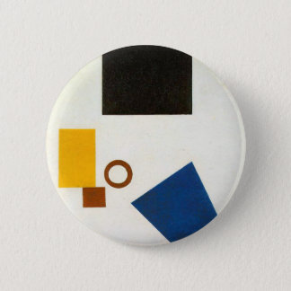 Suprematism. Self Portrait in two dimensions 2 Inch Round Button