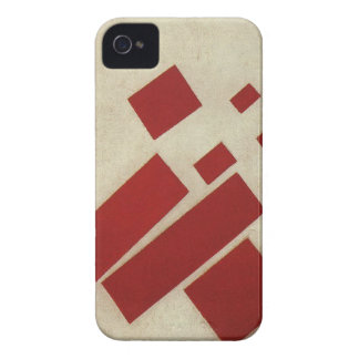 Suprematism with eight rectangles by Kazimir Malev iPhone 4 Case-Mate Cases
