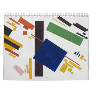 Suprematist Composition by Kazimir Malevich 1916 Wall Calendars