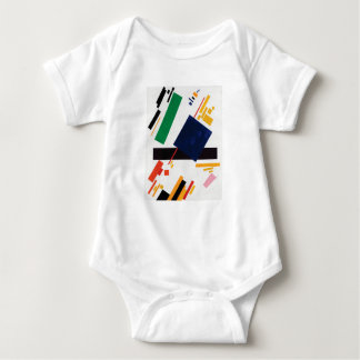 Suprematist Composition by Kazimir Malevich Baby Bodysuit