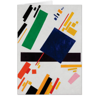 Suprematist Composition by Kazimir Malevich Card