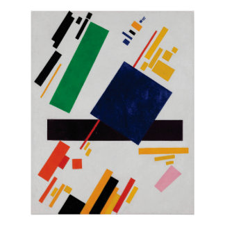 Suprematist Composition by Kazimir Malevich Poster