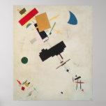 Suprematist Composition No.56, 1936 Poster