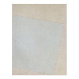 Suprematist Composition: White on White by Kazimir Postcard